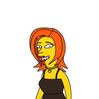 Seleena simpsonized